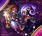 Zoe in Space! by InkRose98