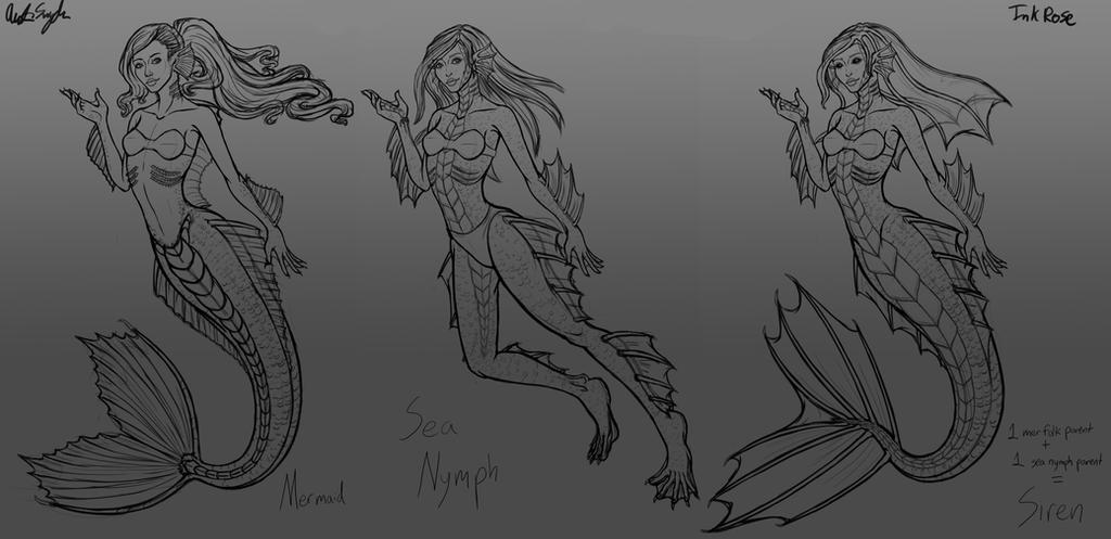 Eveanor Sea Races by InkRose98