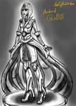 Rough Sketch GLaDOS Android Design
