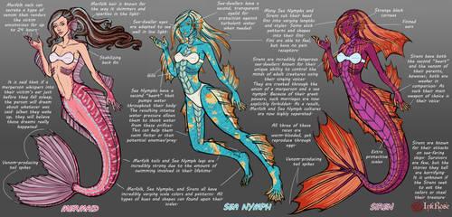 Seafolk of Eveanor Concept Art