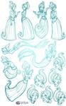 Spectral Lakes Eleanor Sketch Dump