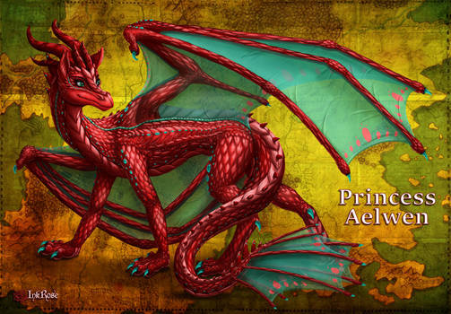 Princess Aelwen: Dragon Form