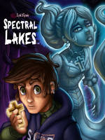 Painted Poster for Spectral Lakes