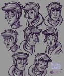 Chris Faraday Facial Expressions