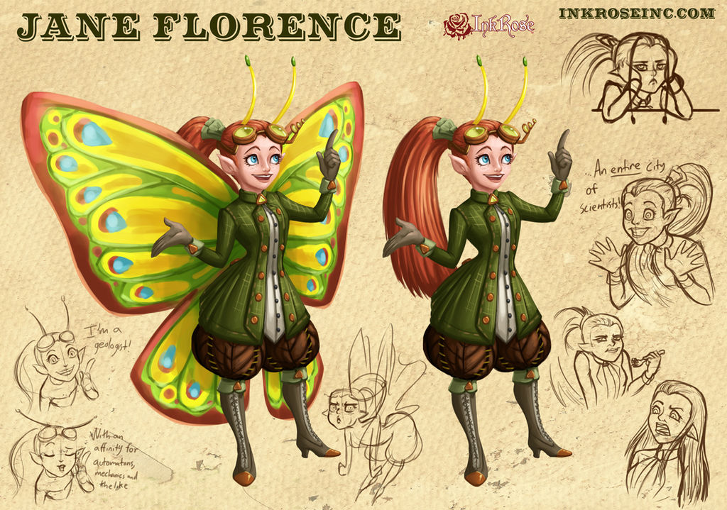 Jane Florence Updated