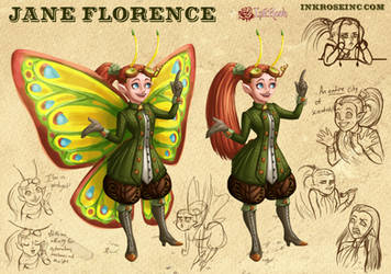 Jane Florence Updated by InkRose98