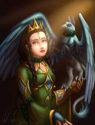 Princess Aelwen of Eveanor by InkRose98