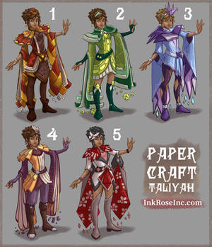 Papercraft Taliyah