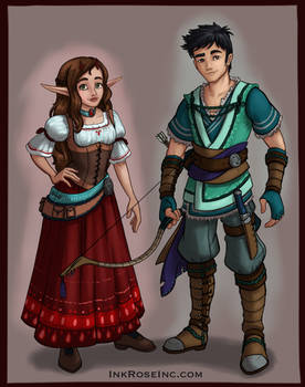 Aelwen and Gerel
