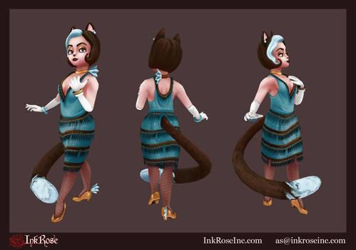Kitty Rue 3D Model