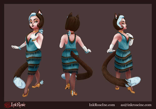 Kitty Rue 3D Model