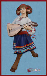 Musical Satyr Girl