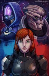 Mass Effect Print