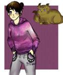 Kuri in Hustle Cat