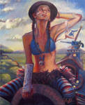 Riding High, a Vision of Tank Girl