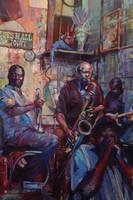 Memphis, Juke joint, Blues by Sloppygee