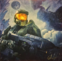 Master Chief by Sloppygee