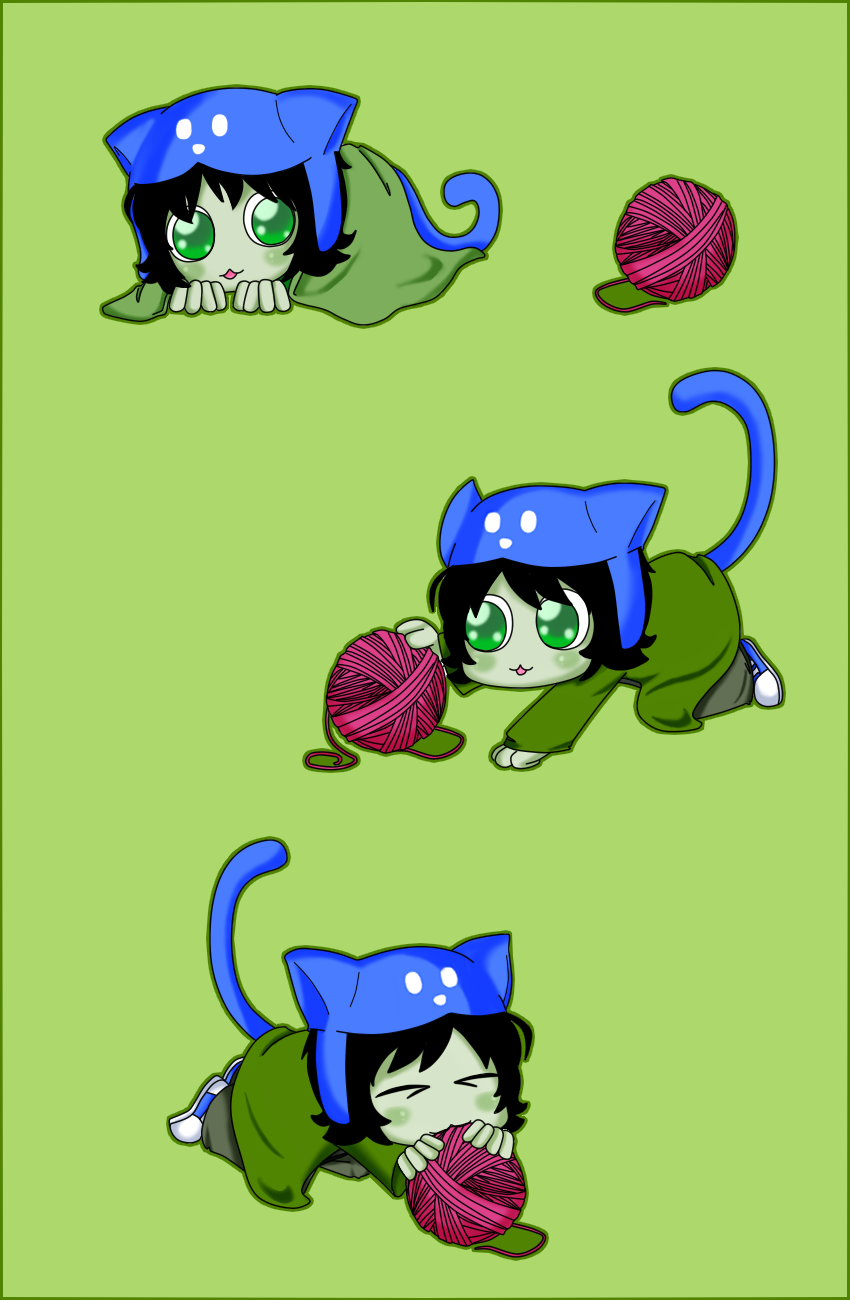 Little kitten Nepeta by happywell