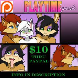 Patreon Pack Resale: Playtime!