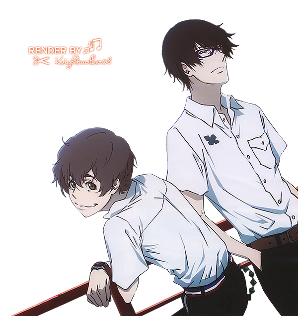 DeviantArt: More Like Zankyou no Terror Render by Knightwalker08