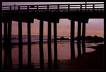 Pier in Silhouette