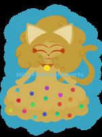 Gold Slime Nekomimi [CLOSED] by Milkabuggy