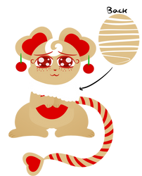 Cookie Mice Mascot: Cherryheart by Milkabuggy