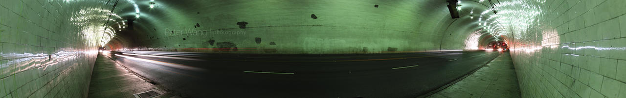 2nd St Tunnel panorama by petertwang