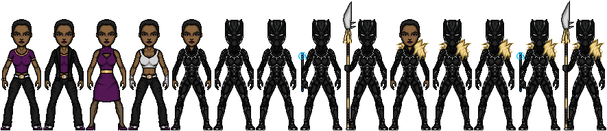 Black Panther Shuri By Lieutenantaleka On Deviantart