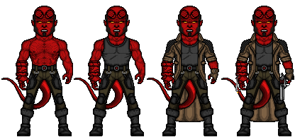 Hellboy by LieutenantAleka