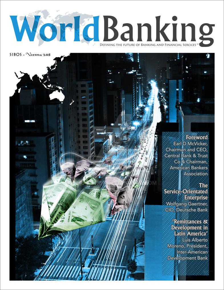 World Banking Magazine Cover by serafin666 on DeviantArt