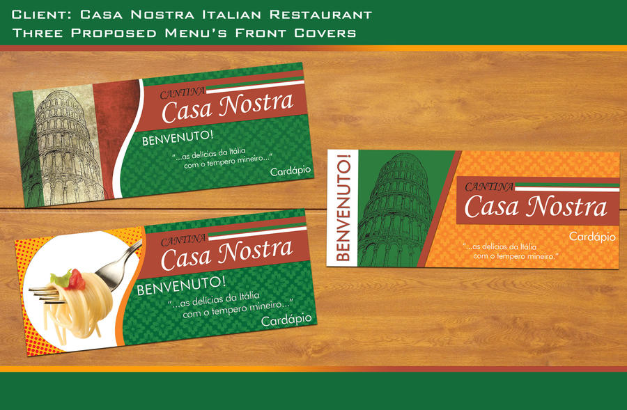 Italian Restaurant Menu Covers by Undead83 on DeviantArt
