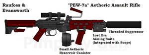 RE PEW 7a Assault Rifle