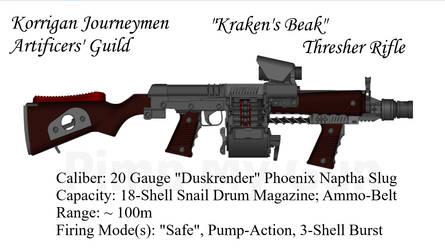 Korrigan Thresher Rifle by daemon99