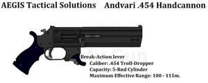 Aegis Andvari Handcannon SWAT