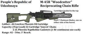 PRU Woodsman's Chain Rifle
