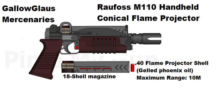Raufoss M110 Flare Gun by daemon99