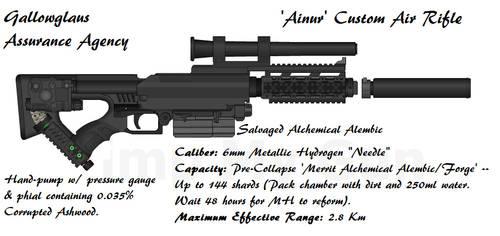 Gallowglass Ainur Air Rifle by daemon99