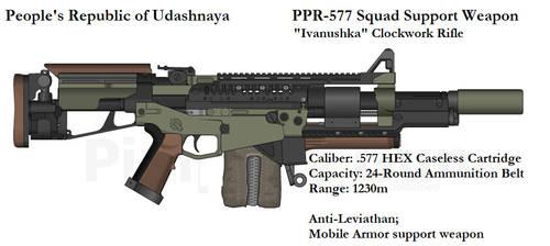 PRU PPR577 Clockwork Rifle by daemon99