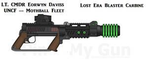 Lost Era Aetheric Blaster Carbine