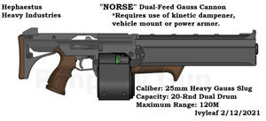 HHI Norse Gauss Cannon