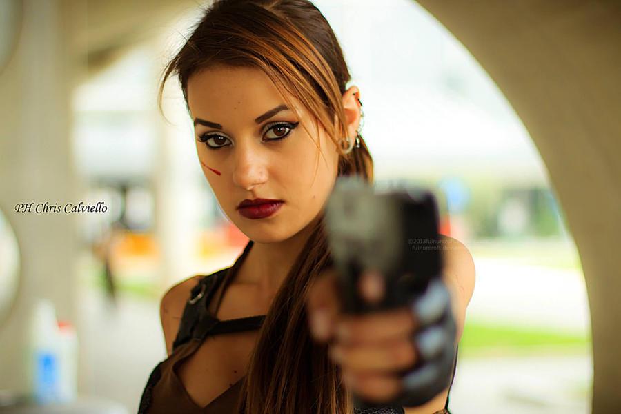 Tomb Raider Underworld - Lara's portrait by FuinurCroft