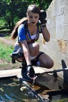Tomb Raider Legend - Fountain by FuinurCroft