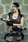 Tomb Raider Legend - Guns