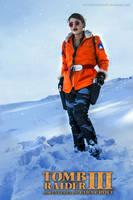 Tomb Raider III Antarctica - Lara Croft Render by FuinurCroft