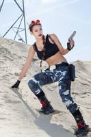 Tomb Raider III Nevada - near the Area 51 by FuinurCroft