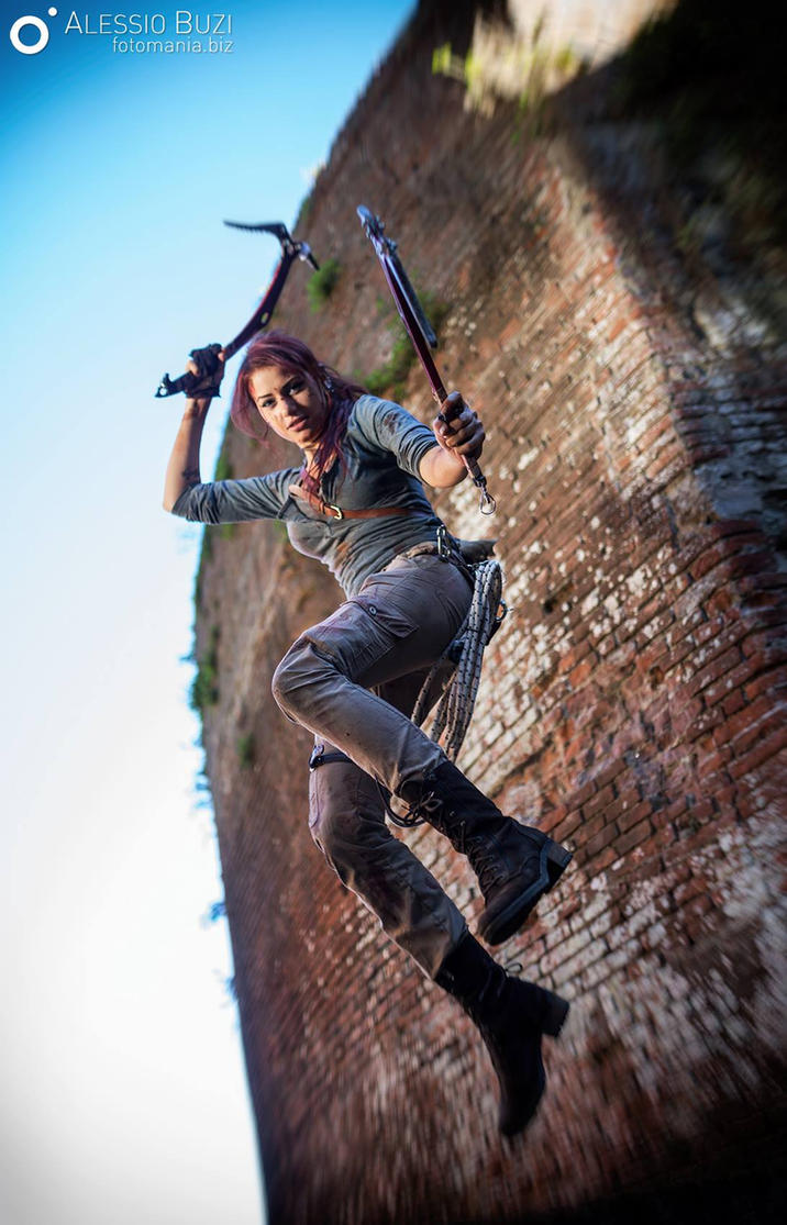 Jump! - Lara Croft Rise of the Tomb Raider by FuinurCroft