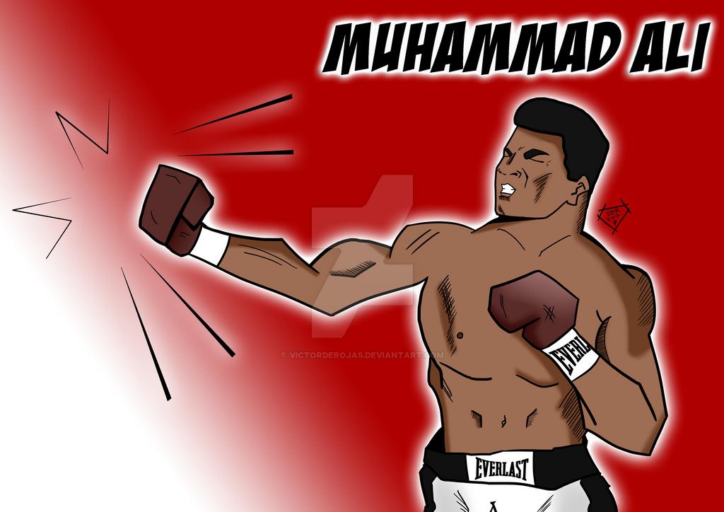 Muhammad Ali by VictordeRojas