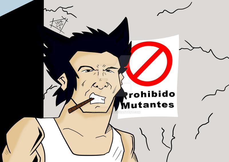 Wolverine by VictordeRojas