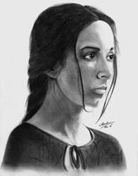 Talisa Maegyr (Oona Chaplin) Portriat by TheFlawlessCowboy